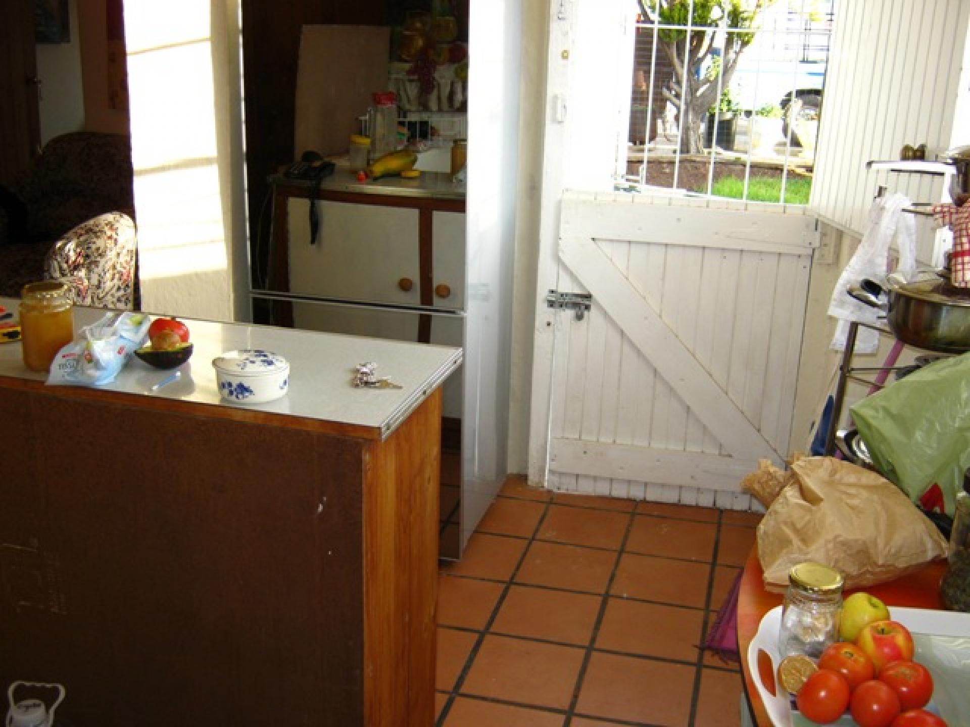 Kitchen of property in Ladismith
