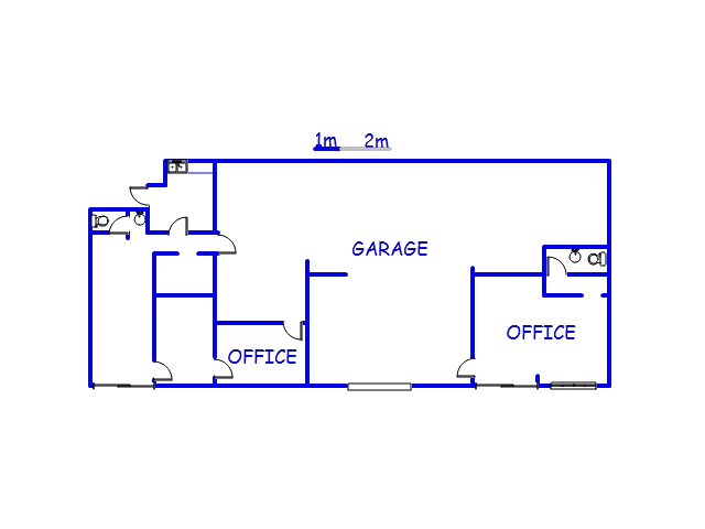 Floor plan of the property in Ottawa
