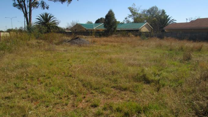 Standard Bank EasySell Land for Sale For Sale in Unitas Park - MR128709