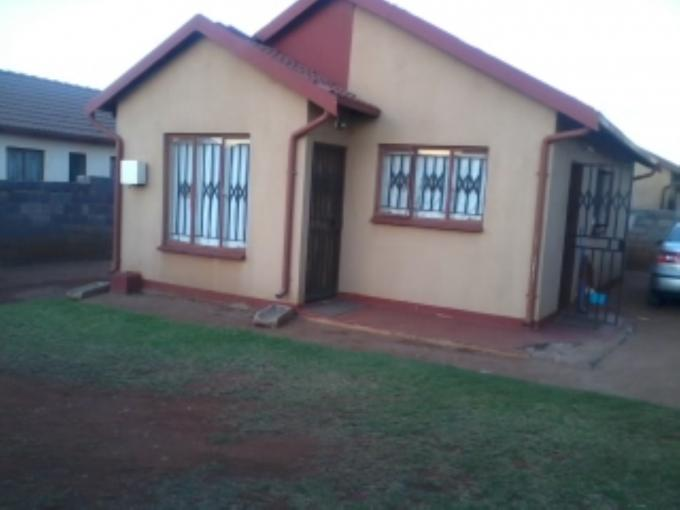 Standard Bank EasySell 3 Bedroom House for Sale For Sale in Vosloorus - MR128823