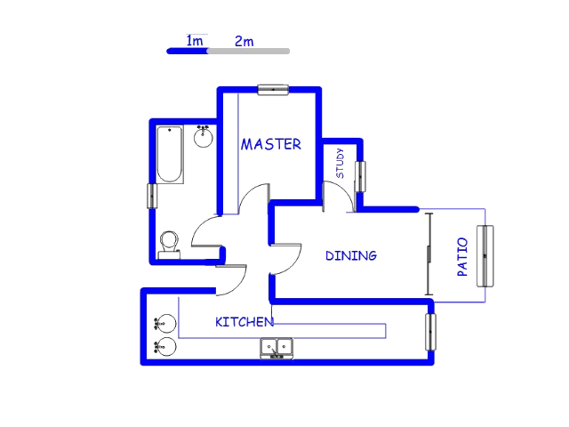 Floor plan of the property in Boardwalk Manor