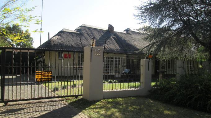 4 Bedroom House for Sale For Sale in Vaalpark - Private Sale - MR129400