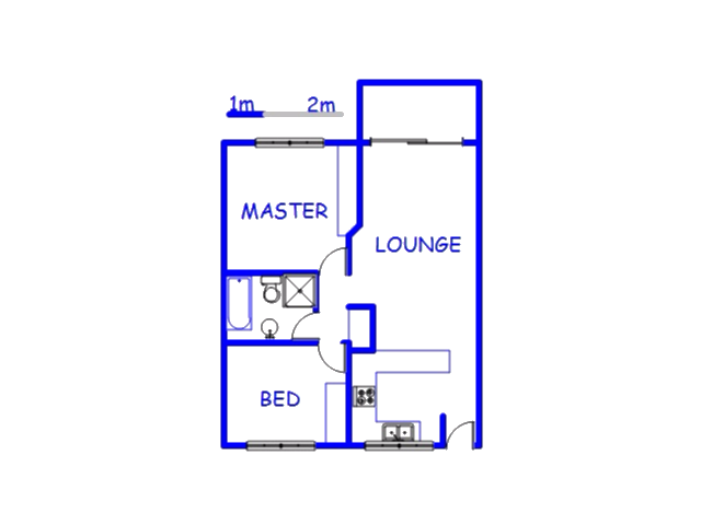 Floor plan of the property in Carrington Heights