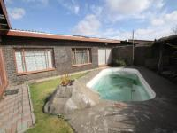 Backyard of property in Trichardt