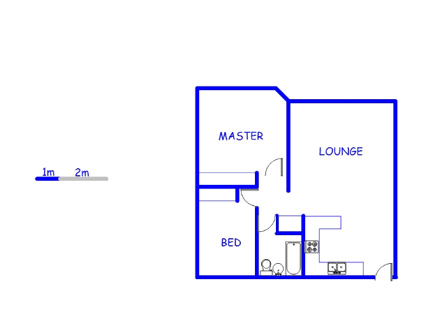 Floor plan of the property in Morningside Manor