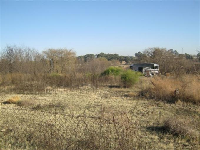 Absa Bank Trust Property Land For Sale in Standerton - MR130097