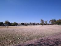 Backyard of property in Silver Lakes Golf Estate