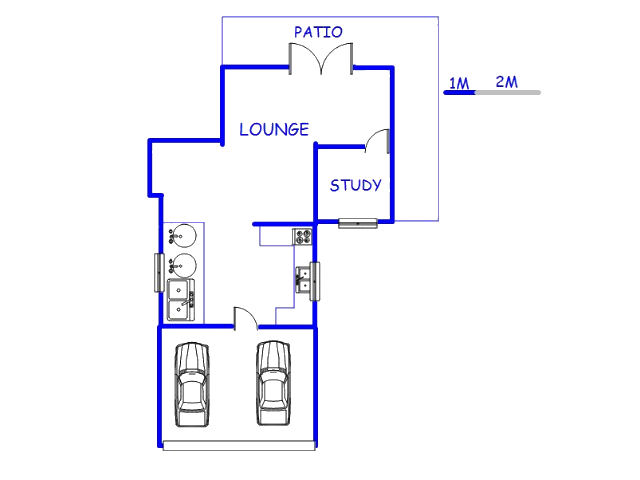 Floor plan of the property in Lynnwood Ridge
