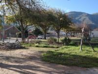 Backyard of property in Franschhoek