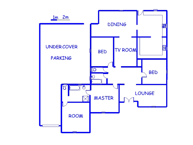 Floor plan of the property in Northmead