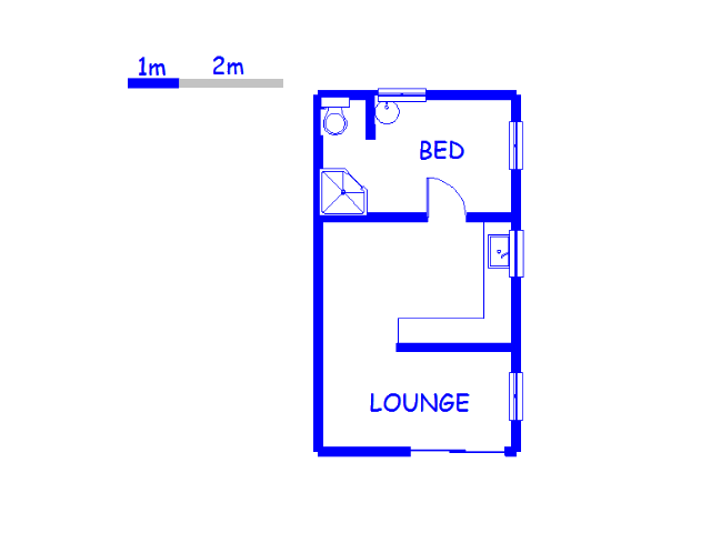 Floor plan of the property in Dawncliffe