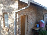 Backyard of property in Rustenburg