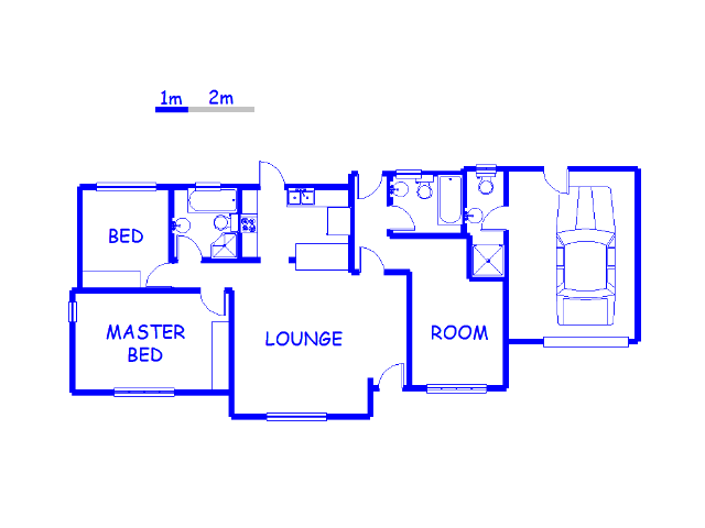 Floor plan of the property in Shulton Park