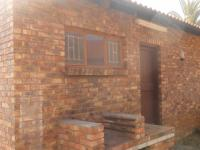 Backyard of property in Emalahleni (Witbank)