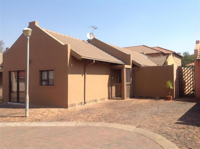3 Bedroom Cluster for Sale For Sale in Boksburg - Home Sell - MR133037
