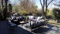 Patio of property in Rivonia