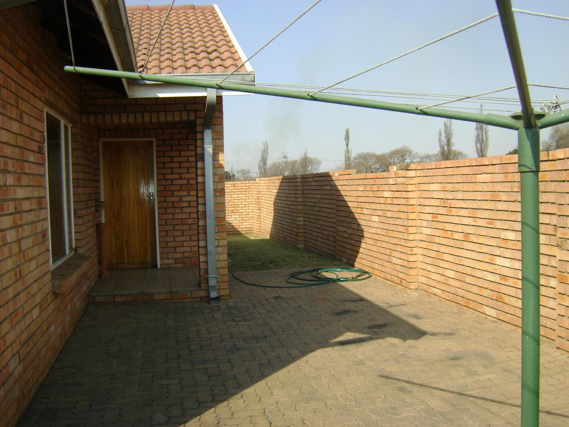 Backyard of property in Komati