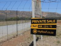 Sales Board of property in Rustenburg
