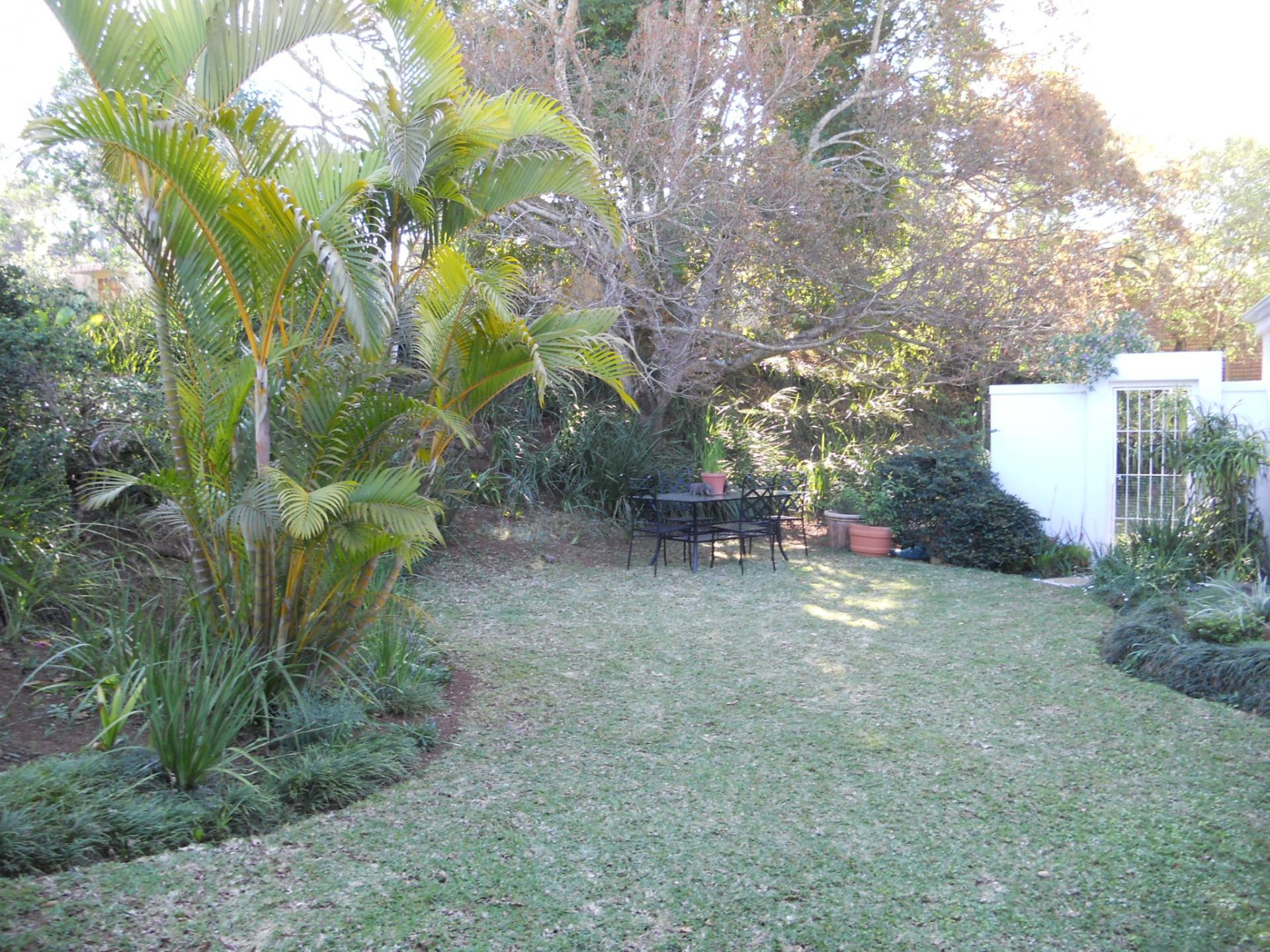 Garden of property in Hillcrest - KZN