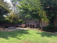 Backyard of property in Midstream Estate