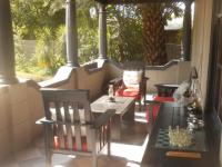 Patio of property in Middelburg - MP