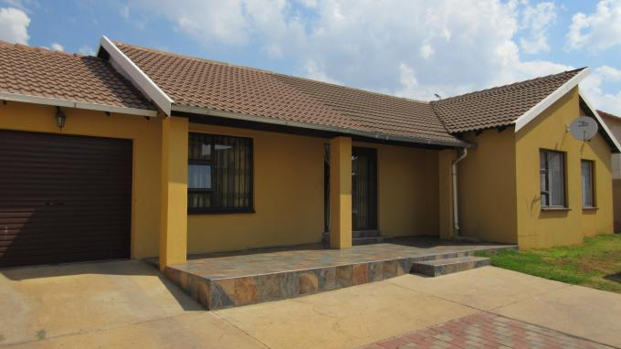 3 Bedroom House for Sale For Sale in Ormonde - Private Sale - MR135584