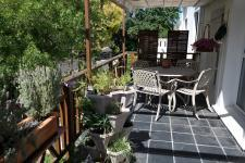 Patio of property in Somerset West