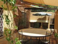 Patio of property in Magaliesburg