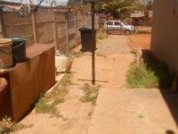 Backyard of property in Laudium