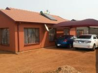 Backyard of property in Soshanguve