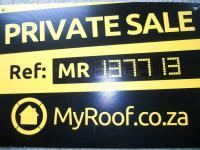 Sales Board of property in Hillcrest - KZN
