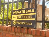 Sales Board of property in Ridgeway