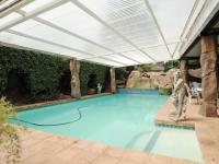 Backyard of property in Constantia Glen