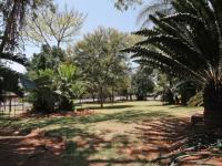Backyard of property in Waterkloof Glen