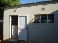 Backyard of property in Upington
