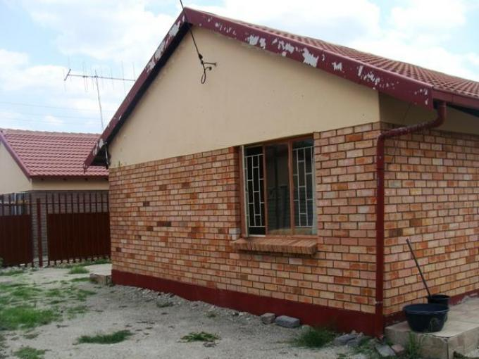 Standard Bank EasySell 3 Bedroom House for Sale For Sale in Boitekong - MR138772