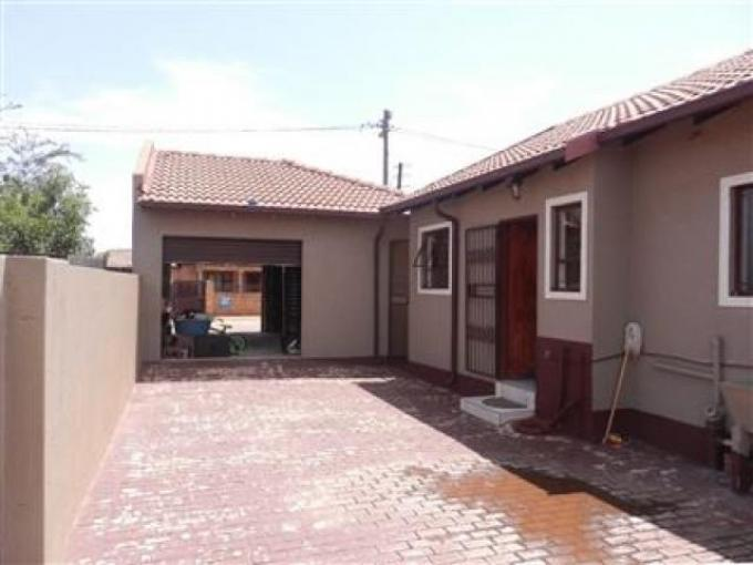 Standard Bank EasySell 2 Bedroom House for Sale For Sale in Protea Glen - MR139885