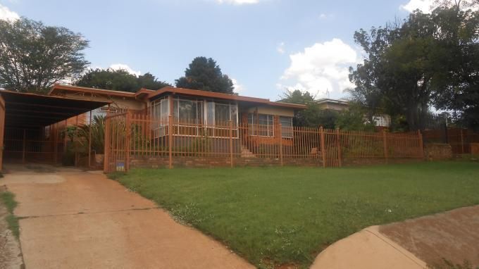 Absa Bank Trust Property 3 Bedroom House for Sale For Sale in Proklamasie Hill - MR140118