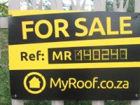 Sales Board of property in Vanderbijlpark