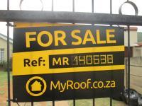 Sales Board of property in Rynfield