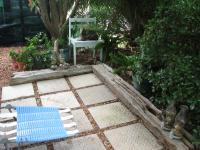 Patio of property in Albertinia