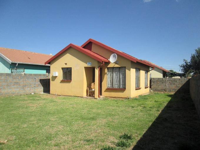 Standard Bank EasySell 2 Bedroom House for Sale For Sale in Klippoortjie AH - MR141071