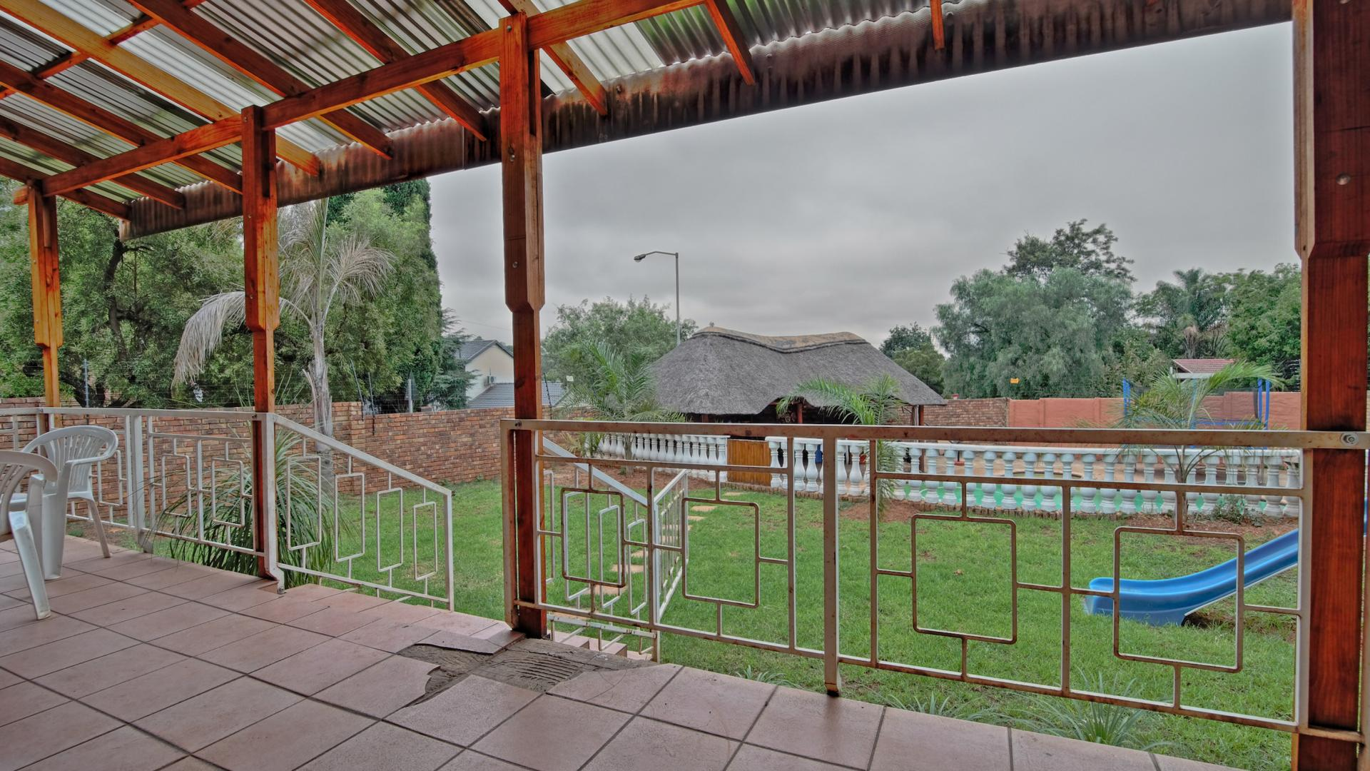 Patio of property in Newlands