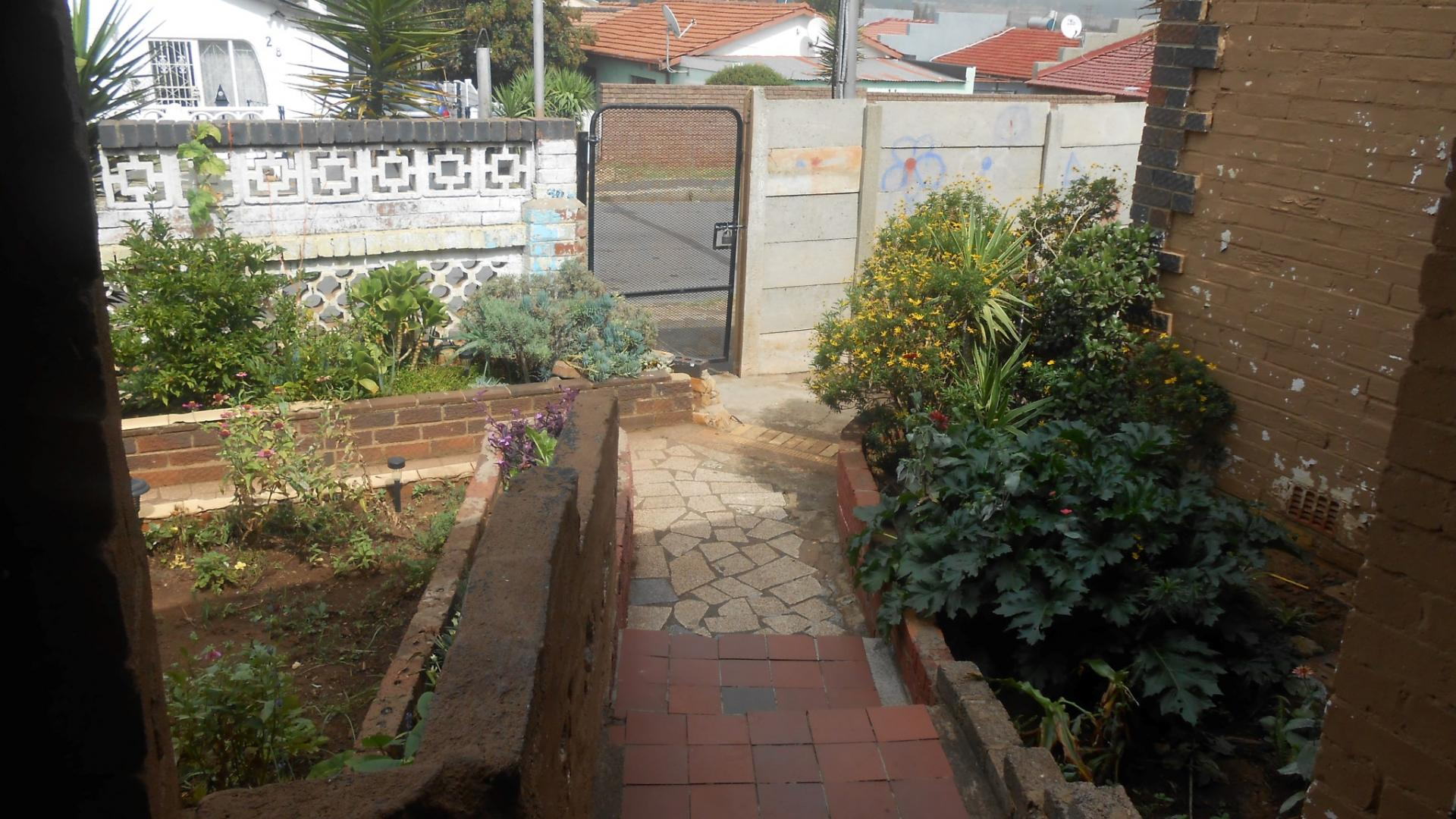 Garden of property in Bosmont