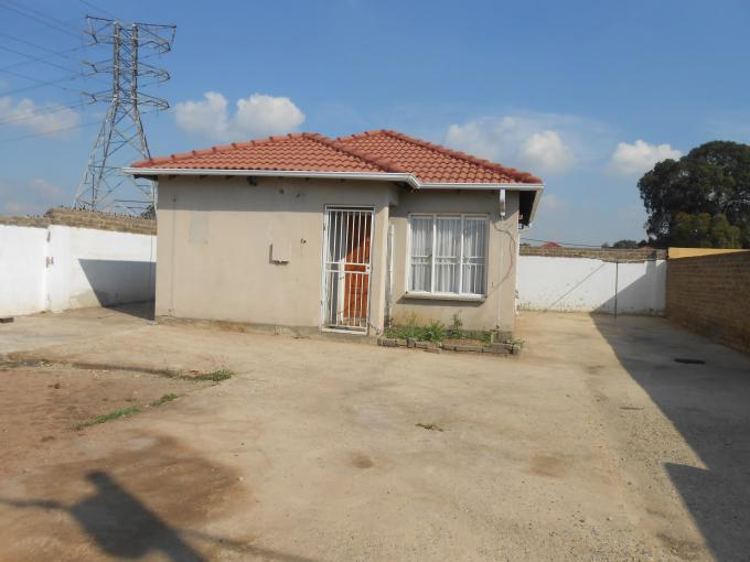Standard Bank EasySell 2 Bedroom House for Sale in Riverlea - JHB - MR141432