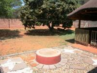 Backyard of property in Kathu