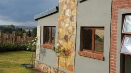 Backyard of property in Dullstroom