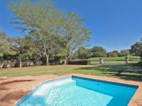 Backyard of property in Woodhill Golf Estate