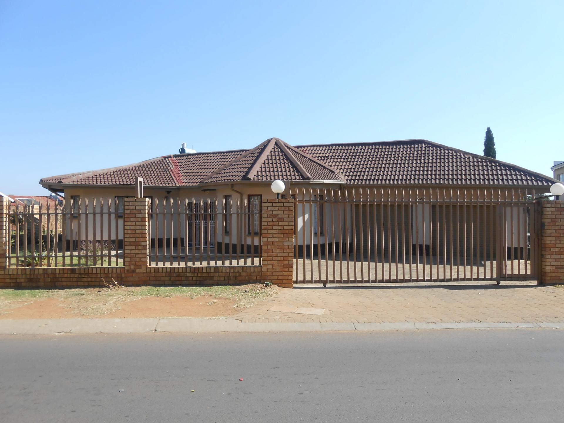 Front View of property in Lenasia South