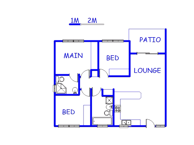 2 bedroom apartment for sale for sale in annlin west for 90m2 apartment plans